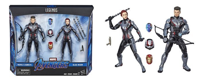 Marvel Legends Hawkeye and Black Widow 2-pack (Target exclusive).
