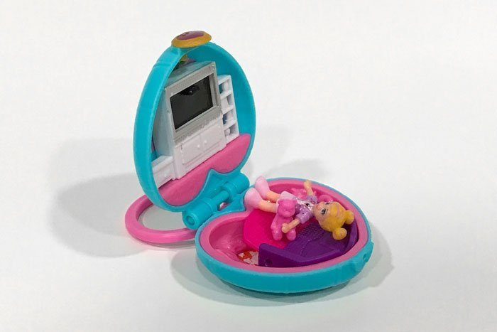 These Polly Pocket mini compacts bring back a flood of memories.