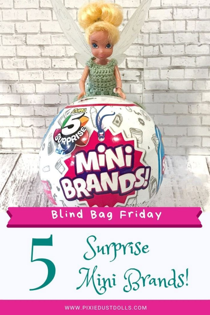 Blind Bag Friday: 5 Surprise Mini Brands!