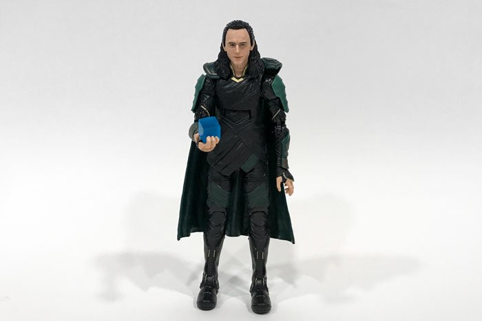 Marvel Legends Avengers: Infinity War Loki figure.