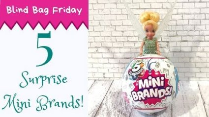 Blind Bag Friday: 5 Surprise Mini Brands from Zuru!