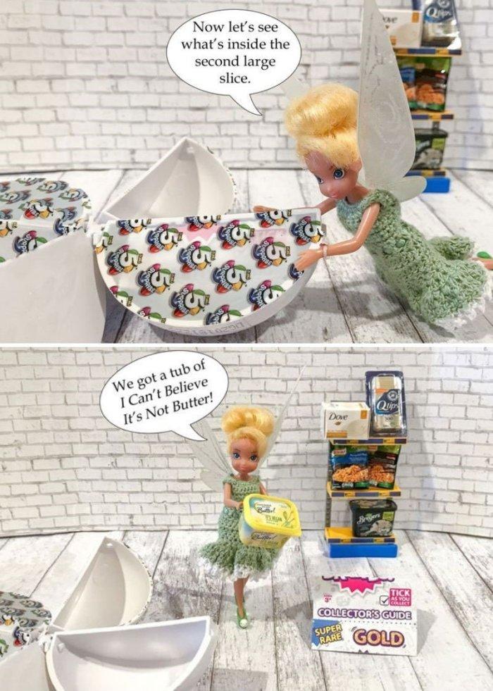 Blind Bag Friday 5 Surprise Mini Brands Pixie Dust Dolls