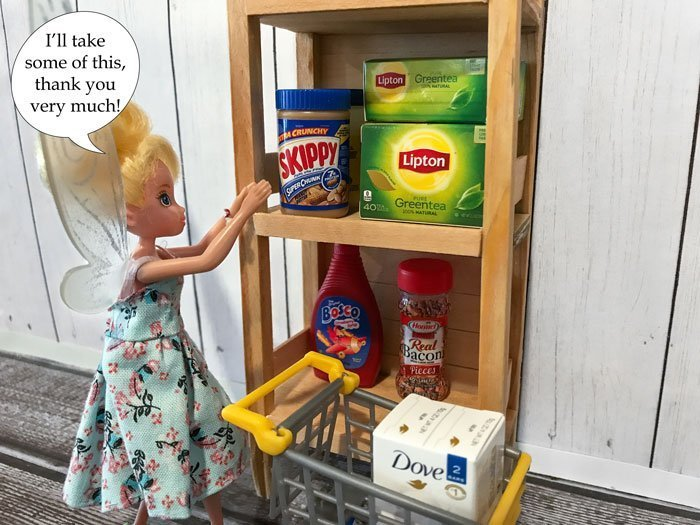 Zuru 5 Surprise Mini Brands are perfect doll-sized groceries.