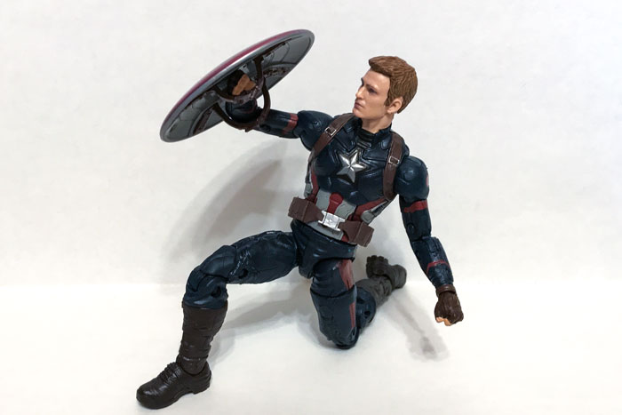 Marvel Legends Captain America.