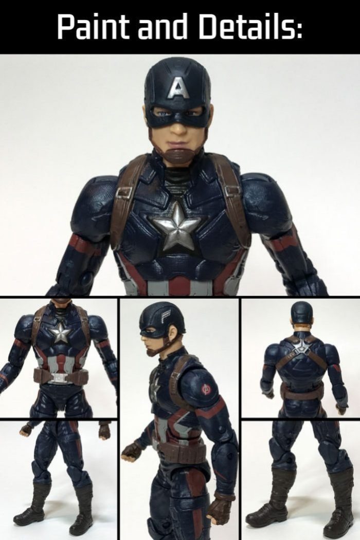 Marvel Studios Captain America Legends Figure.