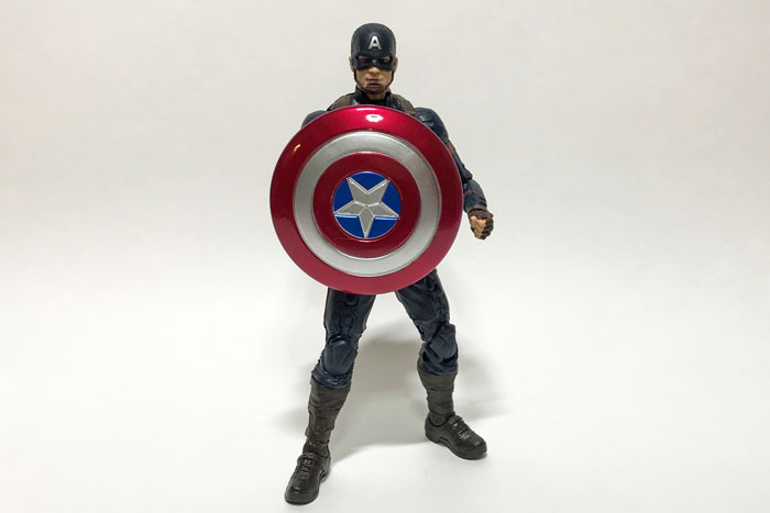 Marvel Legends Captain America Review.