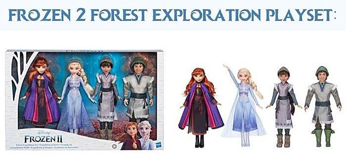 Frozen 2 Forest Exploration Playset (Walmart Exclusive).