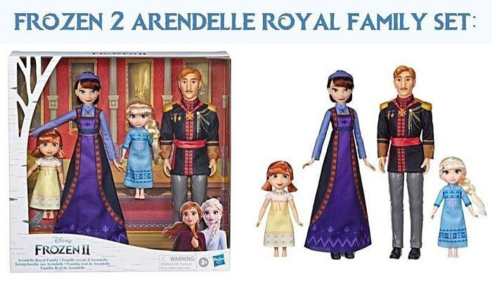 Frozen 2 Arendelle Royal Family Playsey (Target Exclusive).