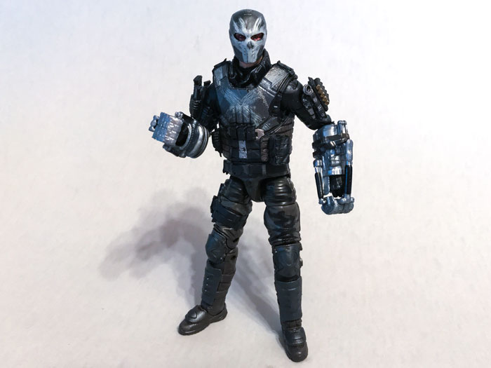 Marvel Legends Crossbones Figure with Gauntlets.