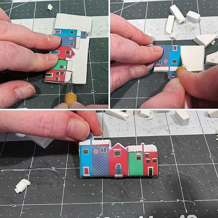 DIY Miniature Christmas Villages Graphic 5.