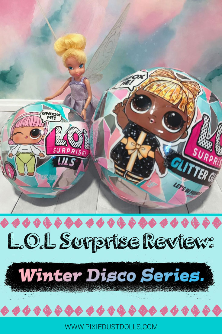 Outfit Dress bottle Fit Set For LOL Surprise Bashful Winter Disco 2019 Dolls Toy