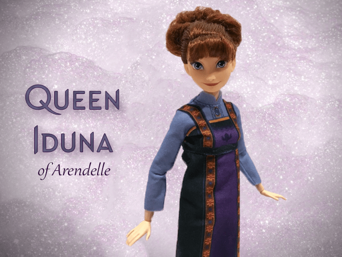 Arendelle Royal Family: Queen Iduna.