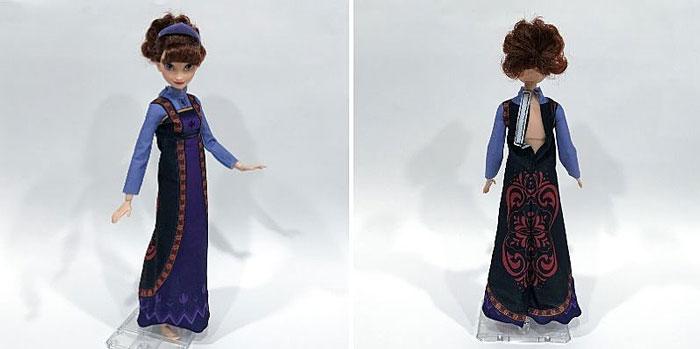 Iduna's Dress On A M2M Barbie Body.