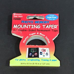 Photo mounting tape.