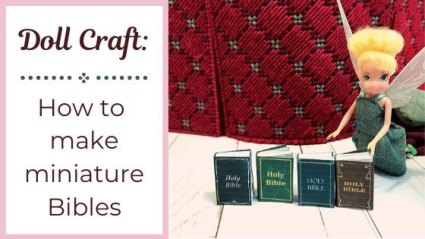 How To Make Miniature Bibles.