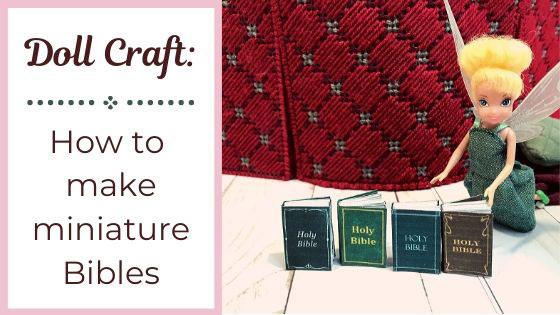 Let's Make Miniature Bibles!