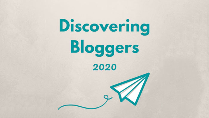 Discovering Bloggers 2020 (image created by MonsterCrafts).