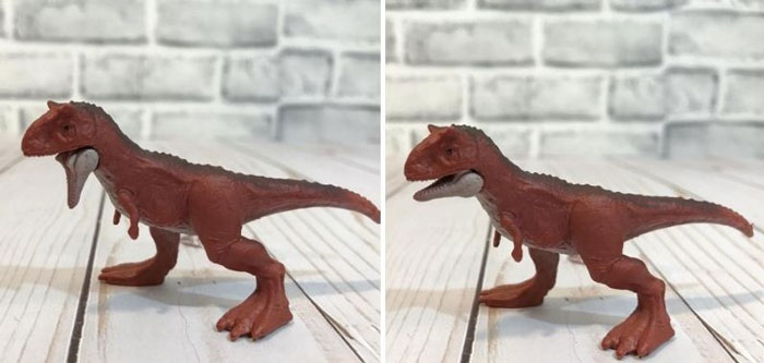 Jurassic World Mini Dino: Carnotaurus.