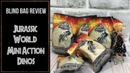 Jurassic World Blind Bag Review (Feature Image).