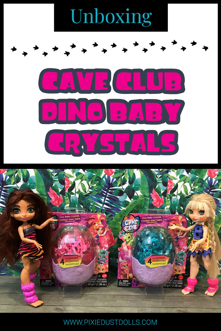 Unboxing Cave Club Baby Dino Crystals!