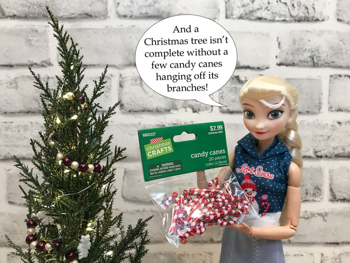 Hobby Lobby Regent Square Christmas Ornament 2021 With Us Always Let S Decorate The Dollhouse For Christmas Pixie Dust Dolls