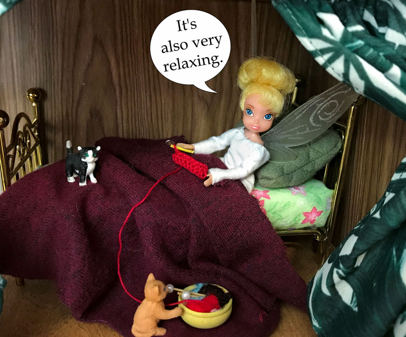 Image of Tink: It's also very relaxing.