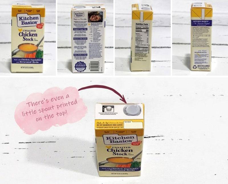 5 Surprise Mini Brands Season 2: Chicken Stock.