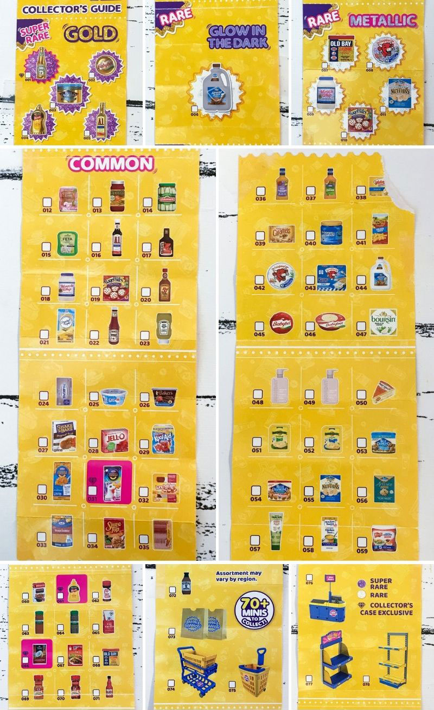 5 Surprise Mini Brands Series 2 Collector's Guide.