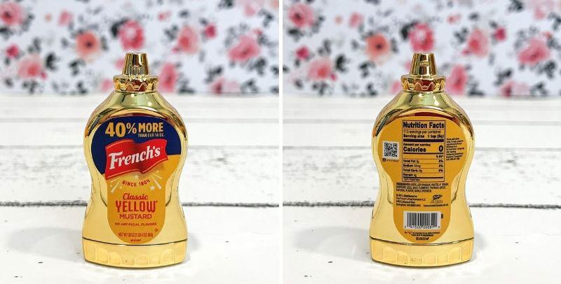 5 Surprise Mini Brand Season 2: Super Rare Gold Mustard.
