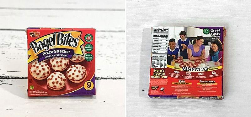 5 Surprise Mini Brands Season 2: Bagel Bites.