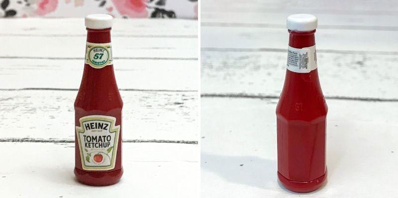 5 Surprise Mini Brands Season 2: Heinz Ketchup.