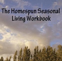 Homespun Seasonal Living Workbook