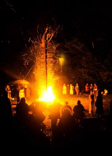 MMM2017 bonfire