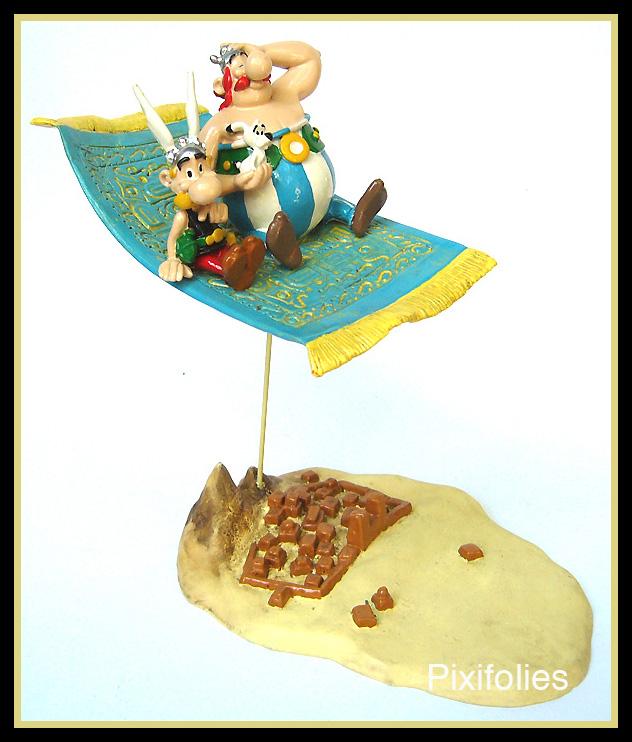 obelix asterix idefix sur le tapis volant