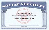 Social security is protected from creditors