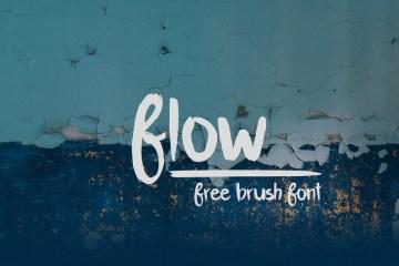 Flow-free-brush-font