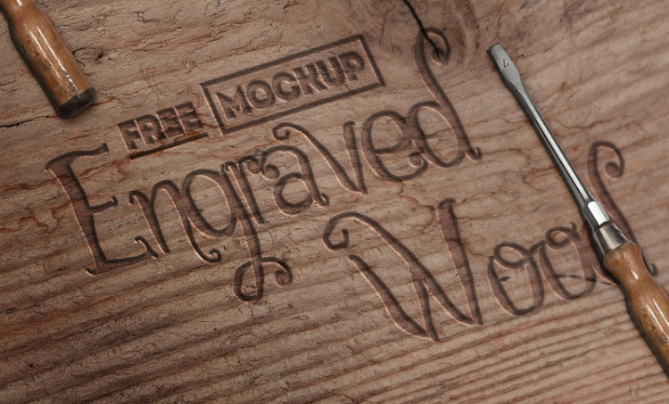 engraved-wood-mockup-free-psd