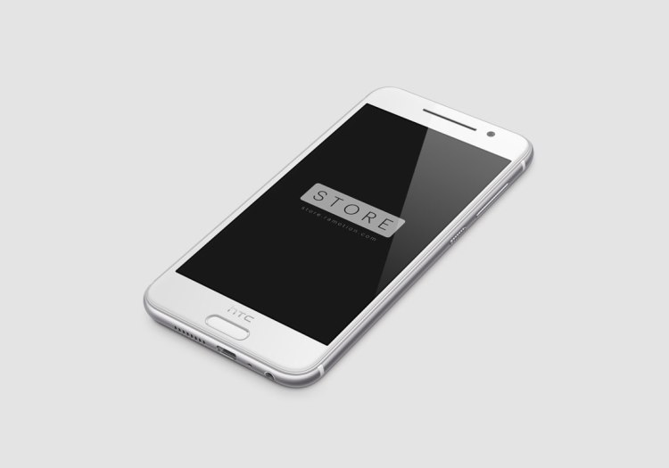 HTC-One-A9-Opal-Silver-Perspective-Right-Free-Mockup