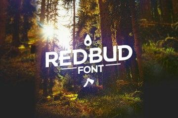 REDBUD Free Font