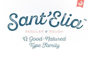 Sant'Elia Free Script font