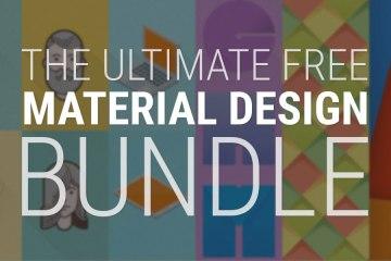 Free Material Design Bundle!