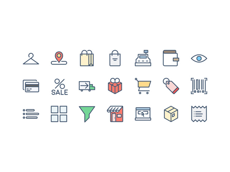 Free Shopping Icons