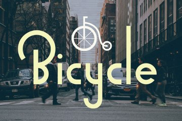 Bicycle Sans Free Typeface