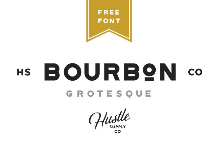 Bourbon Grotesque Free Font