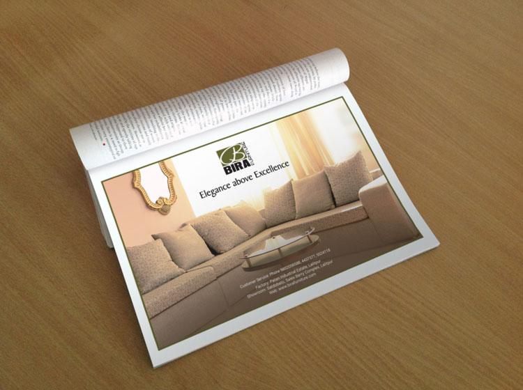 Full-size Magazine Ad Mockup