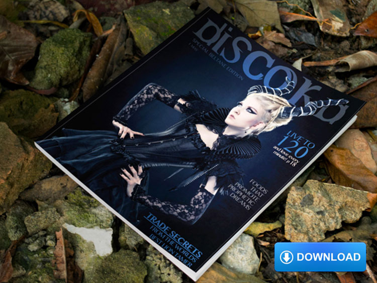Magazine Cover Mockup free download