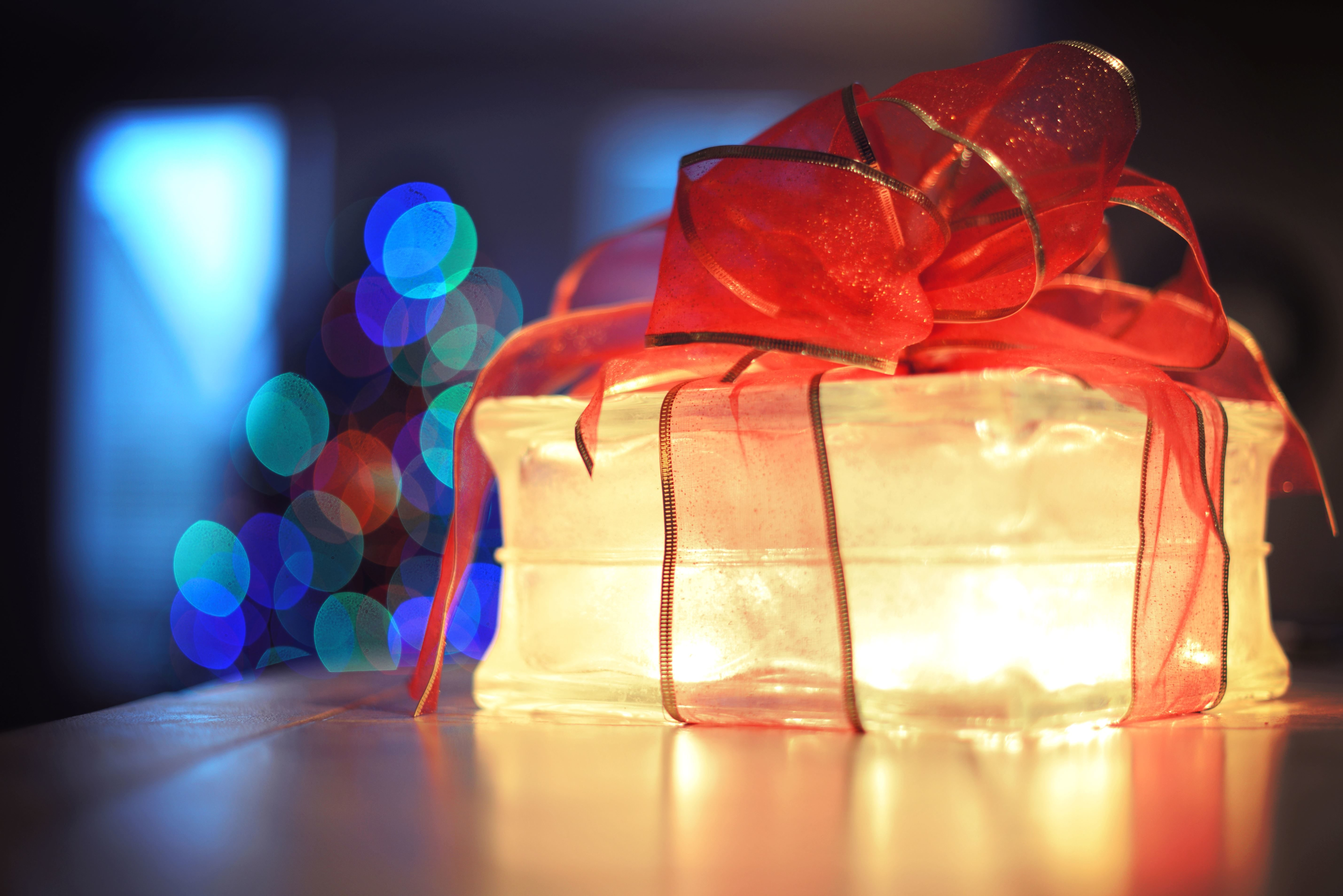 Free Picture Gift Light Packaging Party Ribbon
