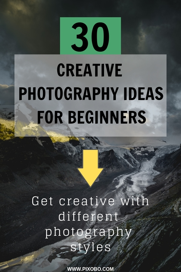 Lack of photography ideas can be a problem, whether you are a beginner or a professional photographer. Each of us has different photography styles, and as soon as we find them out, photography will become more interesting. I\'ve prepared for you 30 creative photography ideas for beginners that will inspire your photography style. #photographystyle #photographyideas #photographytips #creativephotography