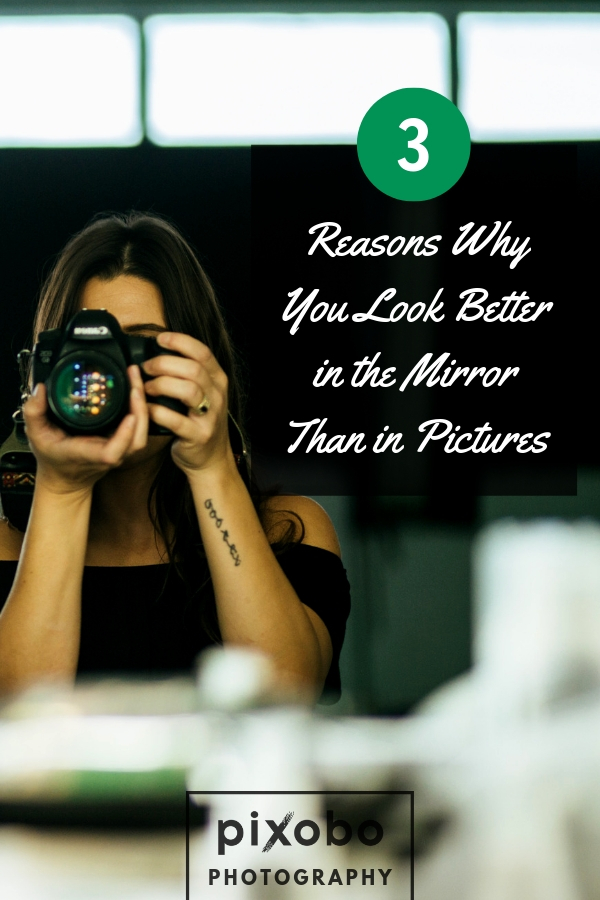 Have you ever noticed that you look better when you look in the mirror than when you shoot a selfie? It\'s nothing strange, this happens to everyone. While the mirror allows you to see yourself in a prettier way, the camera lens shows you an image that other people see. In this blog post, you can find out 3 reasons why you look different in the mirror, when taking a selfie in mirror, versus taking a smartphone selfie. Find out why this is quite a normal occurrence. #mirrorselfie #phoneselfie