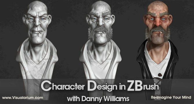 Character Design Zbrush Course : Pixologic zbrush new class at the visualarium with